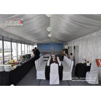 Quality Outdoor Party Catering Tent Commercial Party Tent with Luxury Glass Wall for sale