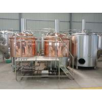 China 1000 liter beer brewing equipment, red copper brewhouse, beer fermenter on sale
