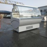 Quality Auto Defrost Fan Cooling Serve Over Counter for Fish, Meat and Sausages for sale