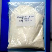 Buy cheap Steroid Supplemnents Post Cycle Therapy Clomifene Citrate Clomid CAS 50-41-9 product