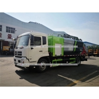 Quality Dongfeng 12000L Tank Capacity High Pressure Jetting Vacuum Cleaning Sewage Suction Truck for sale