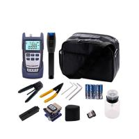 China FTTH Fiber Optic Tools Kit With Optical Power Meter And Visual Fault Locator on sale