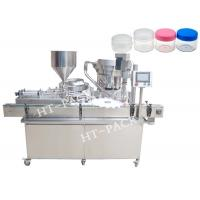 Quality USU304 30ml 50BPM Cream Filling Machine Bottle Filling And Capping Machine for sale