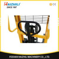 Quality 1000kg Hydraulic Hand Forklift / 1 Ton Hand Lifter Stacker With CE Certification for sale