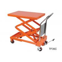 Quality Electric Stationary Hydraulic Lift Table Double Scissor Lifting Equipment for sale