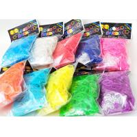 Quality Family Silicone DIY Colourfull Rainbow Loom Bands Rainbow Colorful Loom Rubber Bands for sale