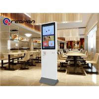 Quality Interactive Restaurant Digital Signage Touch Screen KIOSK 350nits Brightness for sale