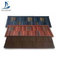 China Solar Shingle/Roofing sheets price in Kerala photo/stone coated steel roofing tiles in Qatar on sale