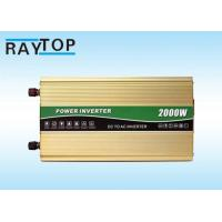 Quality 2000W Vehicle Power Inverter Peak Power 4000W Inverter With 6 High Protects for sale