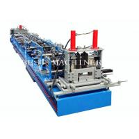 Quality Auto CZ Purlin Channel Forming Machine With Pre Cutting and Punching Holes for sale