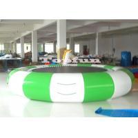 Buy cheap Floating Inflatable Water Parks / Metal Frame Elastic Water Trampoline product