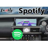 Buy Android 7.1 Car Multimedia System for 2017-2018 Lexus Is 200t Mouse Control with at wholesale prices