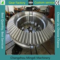 Quality Alloy Steel Bevel Gears Industrial Spur Gears CNC Milling Straight for sale