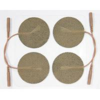 Quality Muscle Stimulator Reusable Electrode Pads , Adhesive Electrode Pads 40*40mm for sale