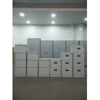Quality Knocked Down Steel Office Drawer Filing Cabinet 0.6mm Thickness for sale