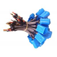 Quality Stranded Tinned Copper Wire Harness Assembly 10V - 30V For OBD Diagnostic System for sale