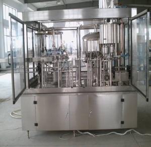China HIgh Accuracy Glass Bottle 3 In 1 Filling Machine Wine Bottling Machine 100ml - 5000ml on sale