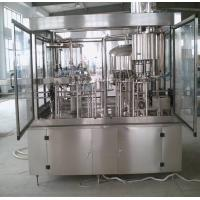 China HIgh Accuracy Glass Bottle 3 In 1 Filling Machine Wine Bottling Machine 100ml - 5000ml on sale