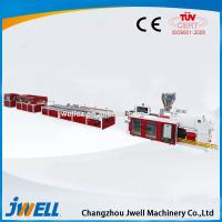 China WPC Door Panel Production Line/Wood Plastic Composite Board Extrusion Line on sale