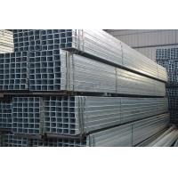 Quality Small Size Galvanized Steel Pipe / Round / Rectangle / Square GI Pipe for Structure Frames for sale
