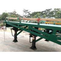 Buy cheap 4 Legs Container / Truck Mobile Yard Loading Ramp 10 Ton With Hydraulic System from wholesalers
