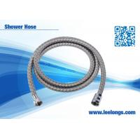 Buy cheap Waving Dazzled Spring Flexible Shower Hose 1.5 m Stainless Steel With Brass Nuts product
