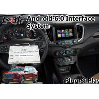 Quality Android 6.0 Car GPS navigation system for GMC Terrain 2014-2018 Mirrorlink for sale