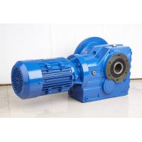 China High Efficiency Helical Bevel Geared Motor Hollow Shaft Gearbox With IEC Or NEMA Motor on sale