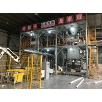 China China new product automatic tile adhesive machine wall putty plant export on sale
