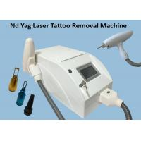 China Portable Nd Yag Laser Tattoo Removal Machine / Birthmark Removal Machine on sale