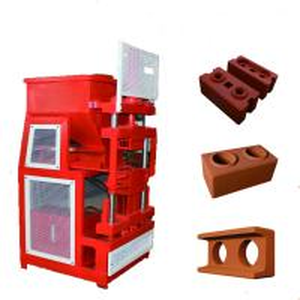 Quality ZS2 -10 Interlock Brick Machine , Automatic Compressed Soil Block Machine for sale