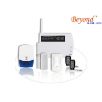 Quality Easy Handle Auto Dialer GSM LCD Wireless 868mhz House Burglar Alarm System for sale