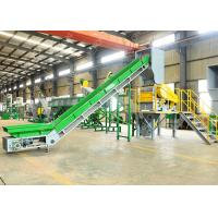 Quality Automatic PP PE Soft Plastic Film Washing Recycling Machine 150 KW Low Consume for sale