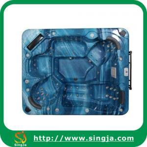 China Navy blue Acrylic mini spa hot tub(SJ-0601) on sale