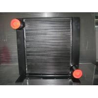 Quality Black Plate Fin Brazing Hydraulic Oil Heat Exchanger for Excavator / vibratile Roller for sale