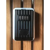 Quality Black & Silver Combination Digital Key Lock Box  for Indoor / Outdoor for sale