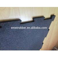 Quality indoor excercise rubber floor tile for sale