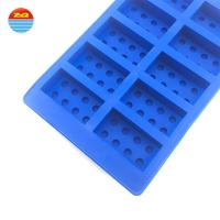 China Wholesale Silicone Flexible Rubber Ice Cube Trays on sale