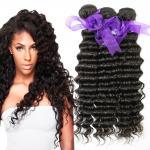 Quality Peruvian Deep Wave HairBundles No Shedding , Peruvian Hair Deep Body Wave for sale