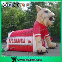 Quality Sport Portable White Advertising Inflatables Dog Tunnel For Sport Event for sale