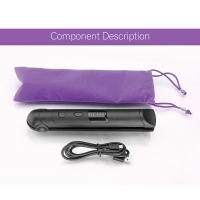 Quality Wireless Gift Rechargeable Hair Straighteners / Small Flat Iron With 3 Setting for sale