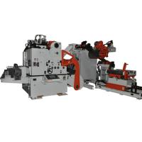 Quality Heavy Duty Material Frame 3 In 1 Feeder For Coil Unwinding , Automatic Feeding Line for sale
