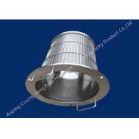 Buy cheap Stainless Steel Wedge Wire Basket Different V Wire Baskets Rotary Drum Screen Filter from wholesalers