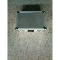 Buy cheap 9mm Plywood And 1mm Thickness  Aluminum Tool Cases 50*50*25cm Silver Color No Wheels product