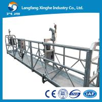 Quality zlp800 Construction maintenance gondola , aerial suspended access platform , skylift rope cradle with counter weight for sale