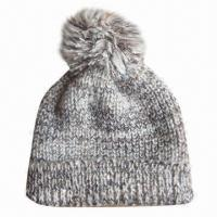 Quality Winter hat, made of 100% acrylic, suitable for men and women for sale