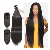 Quality Unprocessed Peruvian Virgin Human Hair Extensions 40 Inches Silky Straight for sale