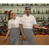 Quality Custom Cotton Chef Cook Uniforms With Embroidery Logo Restaurant Uniforms Shirts for sale