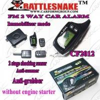 Quality Auto Accessories Electronics 2 Way Paging Car Alarm System,English Version. Anti-hijacking for sale