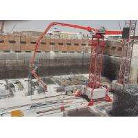 Quality Stationary Type Tower Concrete Placing Boom 360 Degree Slewing Range 380V/50Hz for sale